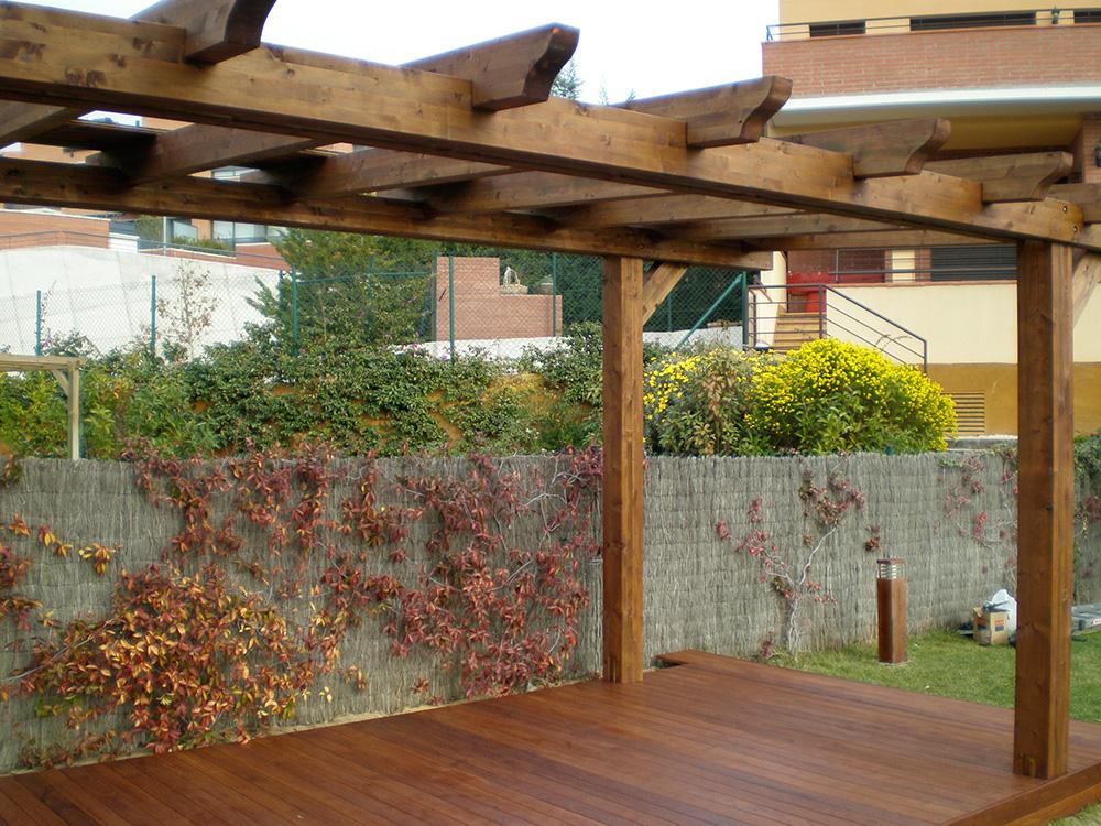 P rgolas y porches de madera speedgrass - Pergolas y porches ...
