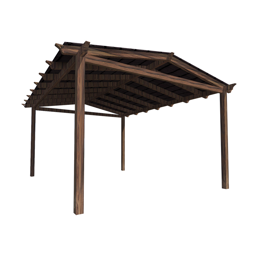 P rgolas y porches de madera speedgrass - Accesorios para pergolas ...