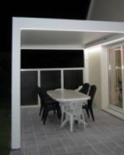 LED en la estructura